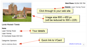 Advert image size